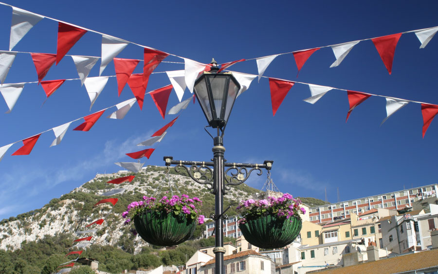 gibraltar-national-day-red-and-white-flags