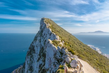 Rock of Gibraltar and Straights